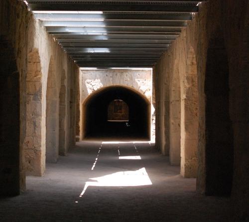 Amfiteater i El Jam, kælderen.