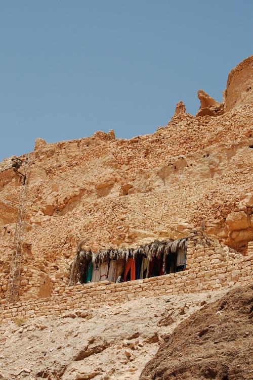 Berberlandsbyen Chenini.