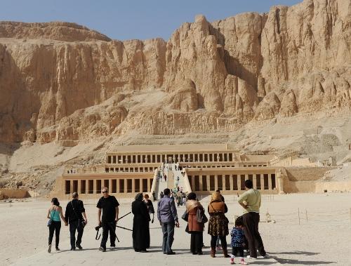 Hatshepsuts dødetempel.