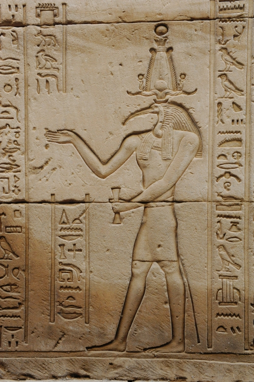Thoth i Horustemplet.