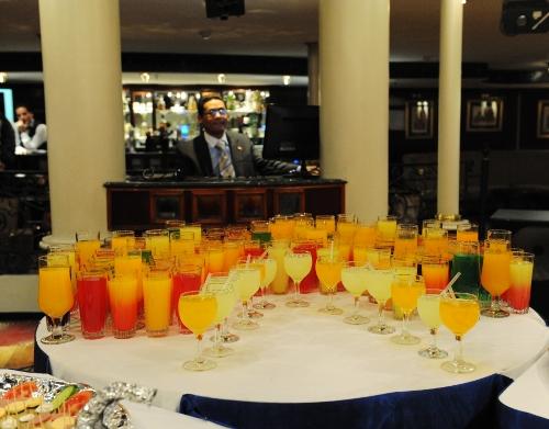 Drinks på Nil-krydstogtskibet Renaissance.