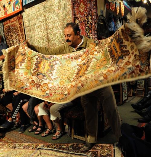 Tæppehandler med charme.