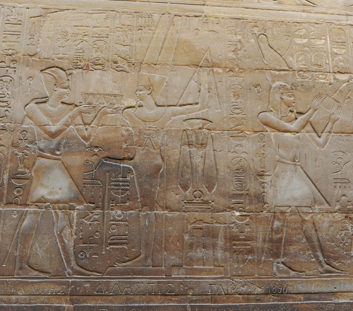 Amon-Re-templet i Luxor.