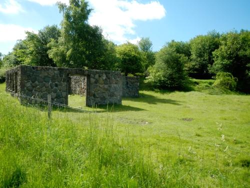 Ruin fra 2. Verdenskrig.
