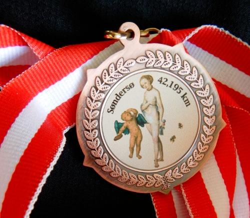 Medalje: Venus og Amor.