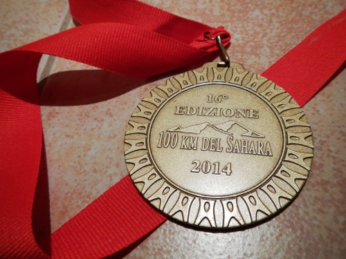 Medaljen.