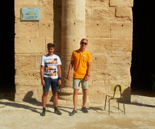 Amfiteater i El Djem.