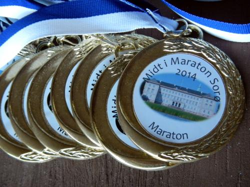 Midt i maraton