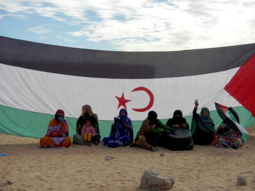 Support i flygtningelejren Awserd.