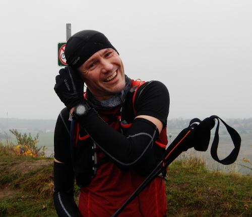 9. gang på toppen af Roskilde skibakke.