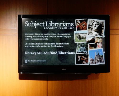 Find den relevante bibliotekar.