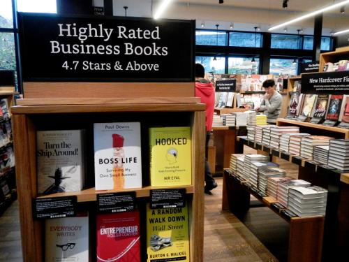 Bøger med en høj rating.