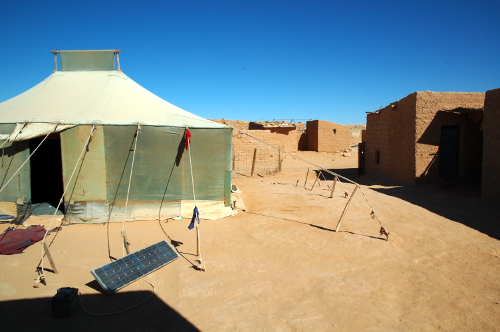 Smara er en af flygtningelejren i Algeriet, hvor flygtningen fra Vestsahara har levet de sidste 40 år - siden Marokko besatte deres land.