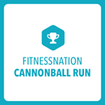 Fitnessnation Cannonball Run logo