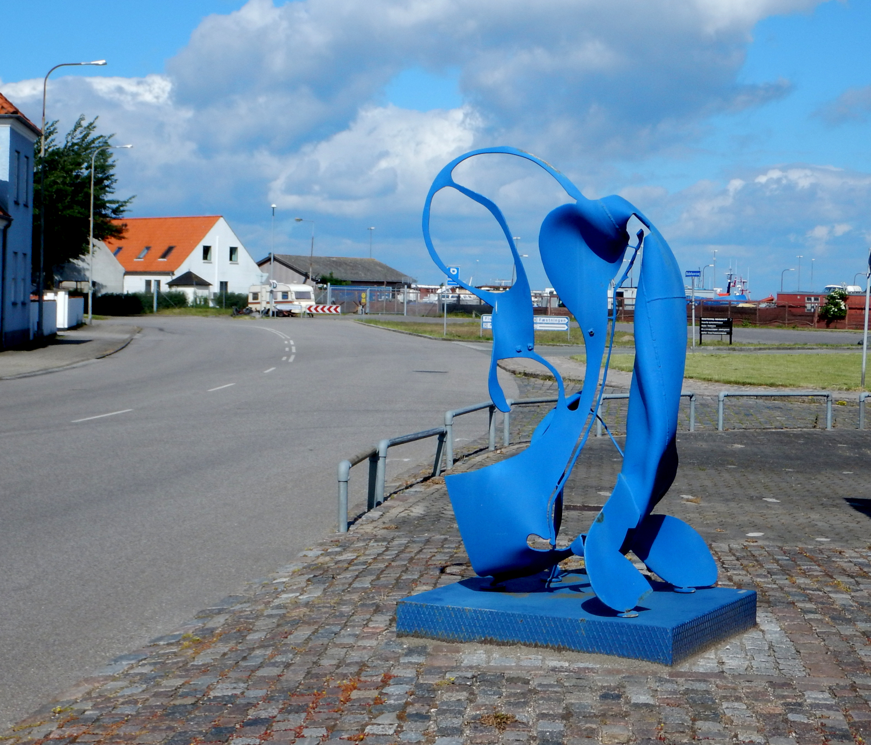 Skulptur i jern