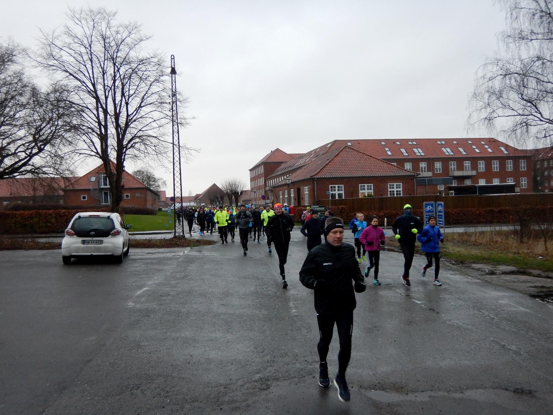 Løbere på vejen